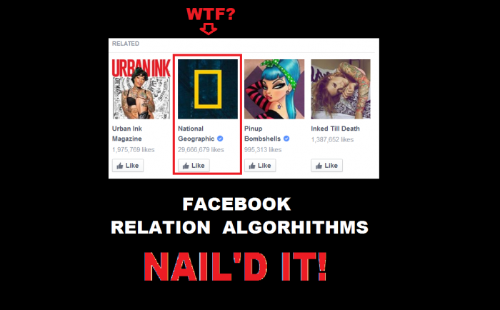 Nailed-it Meme Facebook related algorithm