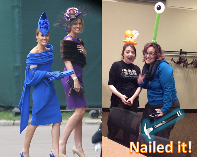 Nailed-it Meme celebrity hats