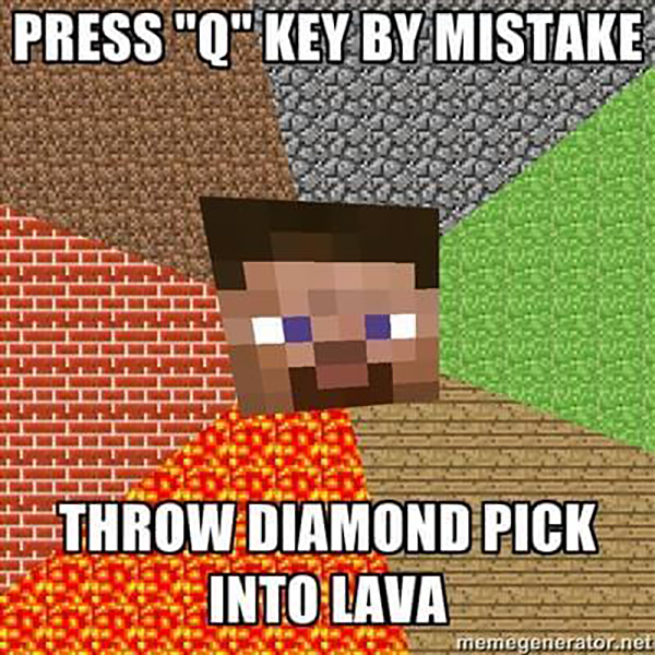 Hilarious Memes for Minecraft Gamers