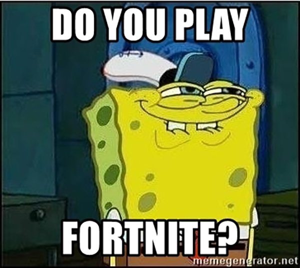 Best Spongebob Fortnite Memes