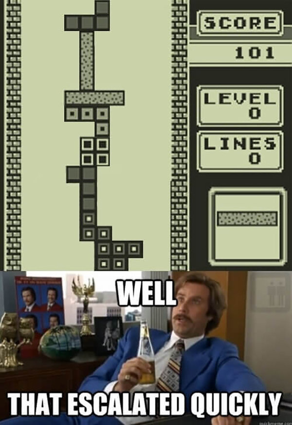 Funny Video Gamer Memes - well that escalated quickly