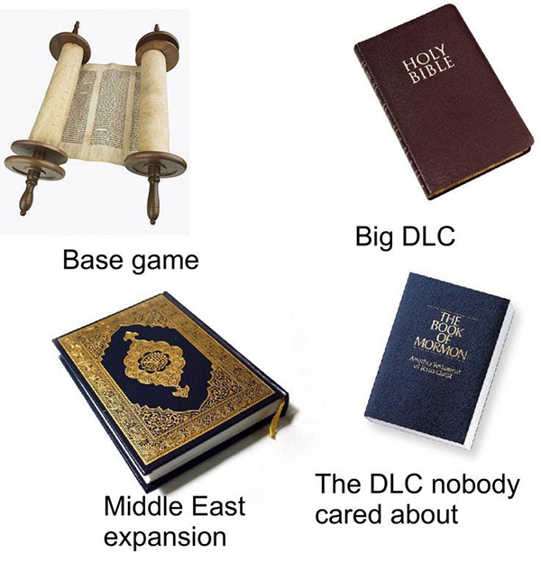 Best Video Game Memes - the bible base game