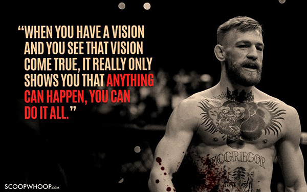 Best Conor McGregor Memes when-you-have-a-vision