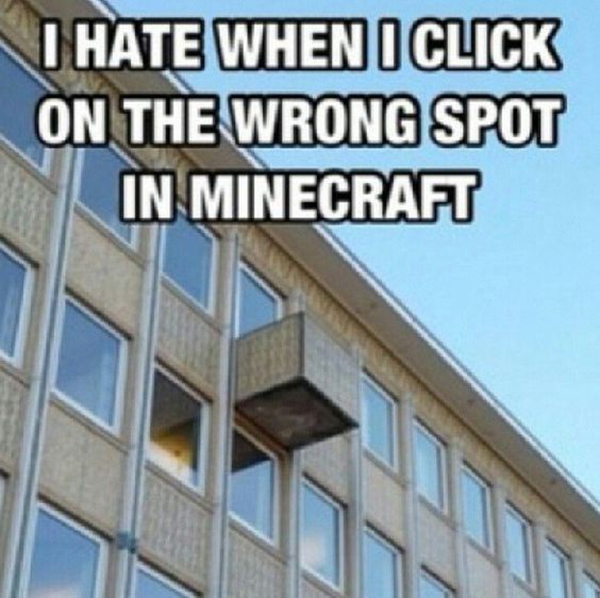 Top 25 Best Funny Minecraft Memes