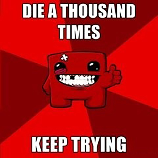 Funny Super Meat Boy Memes (Daily Grind Edition)