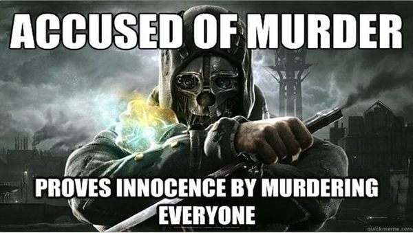Funny Video Game Memes - Accused of Murder