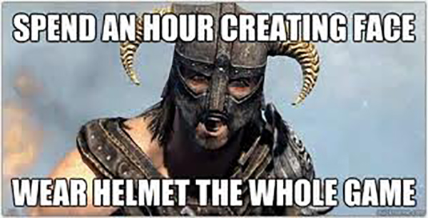 Funny Video Gamer Memes - Spend an hour creating face