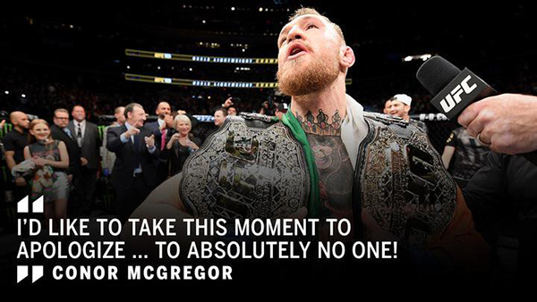 Best Conor McGregor Memes apologize to no one