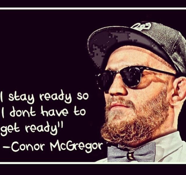 Best Conor McGregor Memes i stay ready