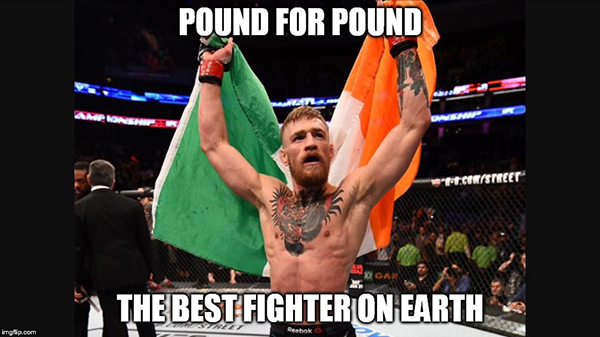 Best Conor McGregor Memes pound-for-pound